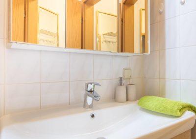Ferienwohnung Erfurt Badezimmer